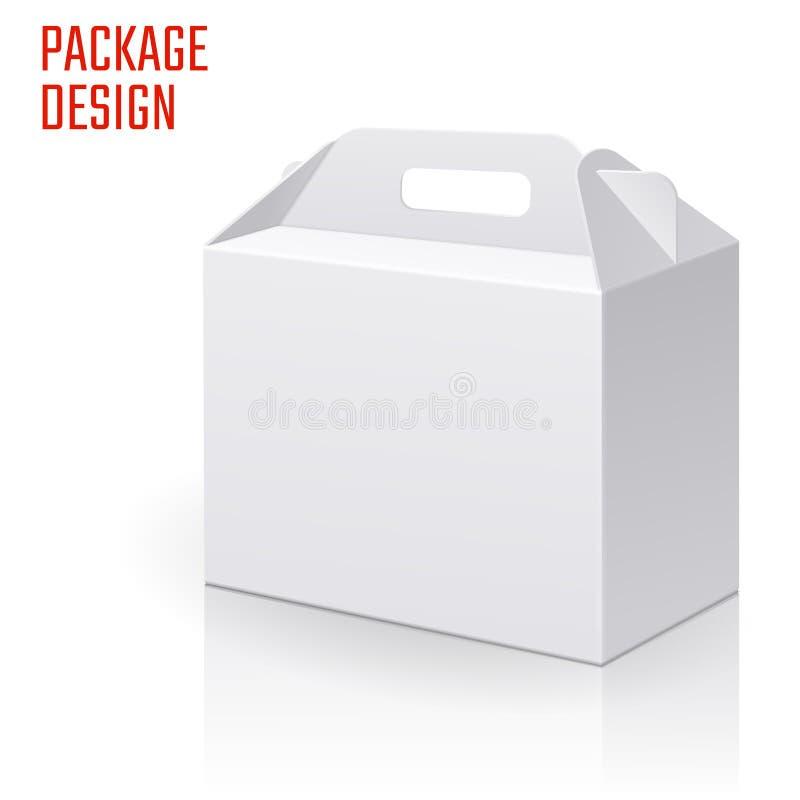 Free Clear Gift Carton Box Royalty Free Stock Photo - 86428595