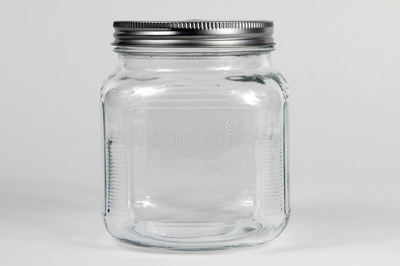 Download Clear Glass Jar stock photo. Image of clear, glass, breakable - 12833434