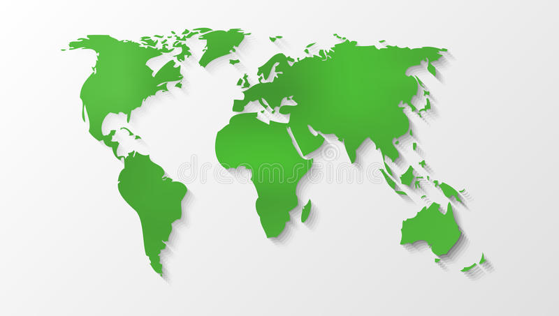 Green world map silhouette stock vector illustration of eurasia download green world map silhouette stock vector illustration of eurasia 99047333 gumiabroncs