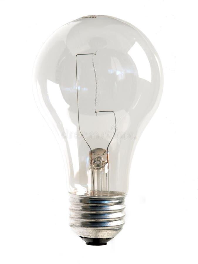 Clear Light Bulb stock photo