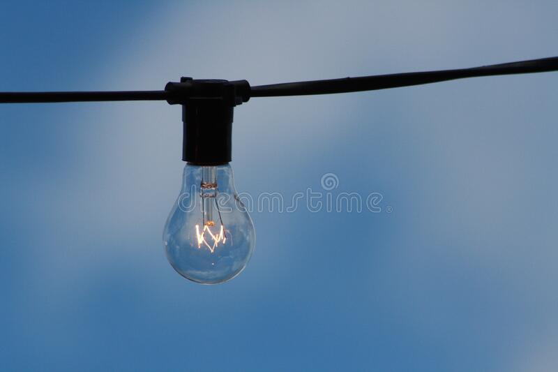 Clear Light Bulb On Wire Free Public Domain Cc0 Image