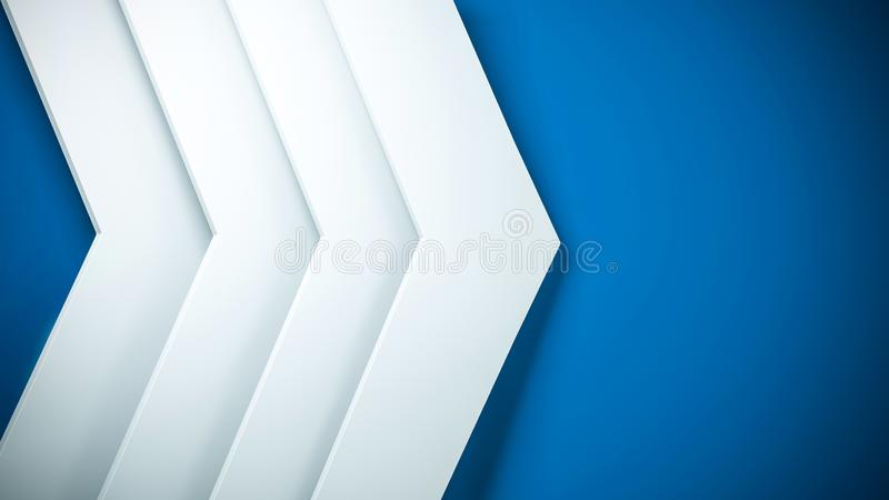 Clear pattern abstract background arrow white and blue elegant, next, studio. vector illustration