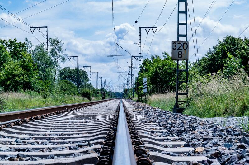 Clear Photo of Train Rail during Daytime stock photos