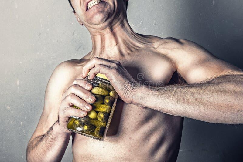 Clear Pickle Jar Free Public Domain Cc0 Image