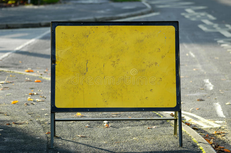 Clear Road Sign Stock Image