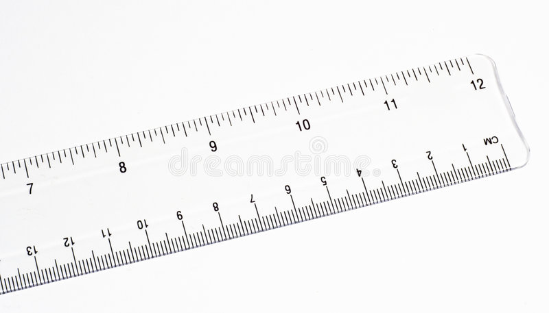 Clear Ruler royalty free stock photo