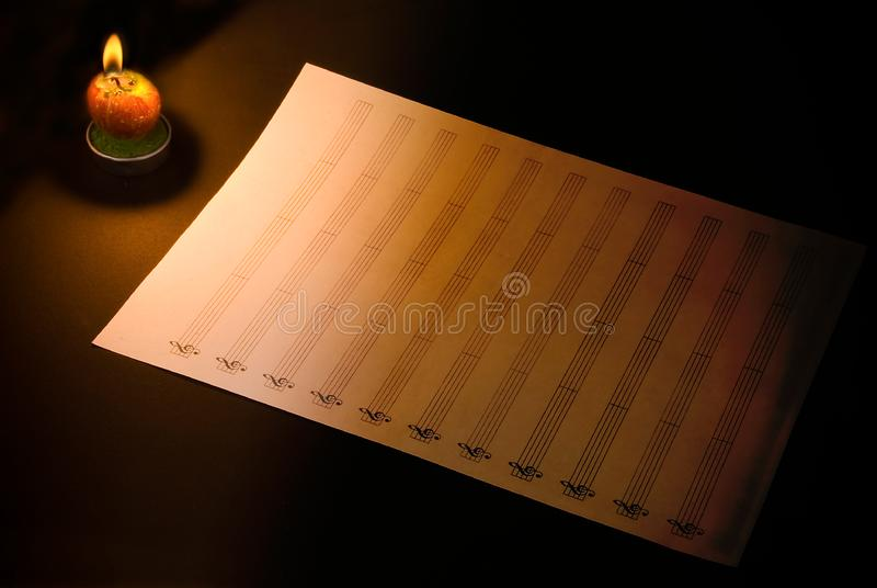 Clear sheet stock photography