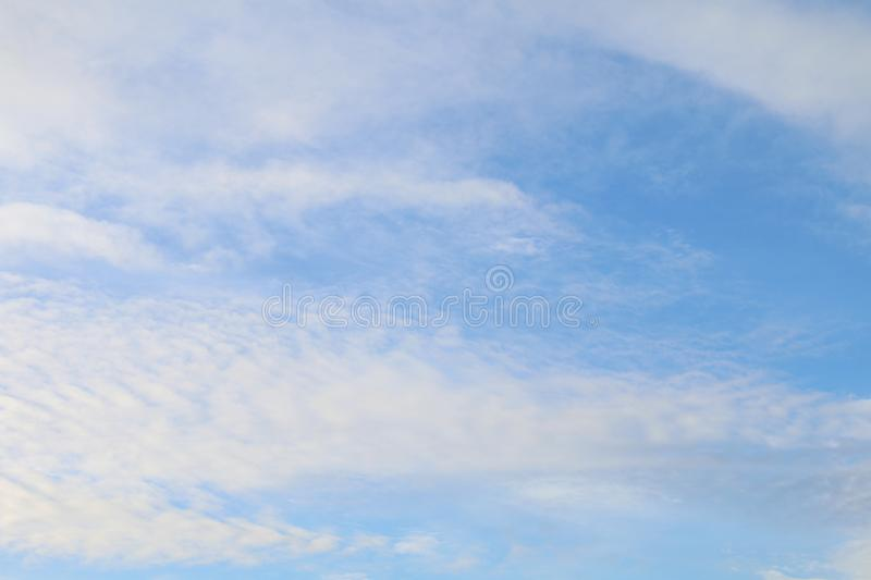 Clear sky beautiful clean, Sky blue, Sky and cloud royalty free stock image