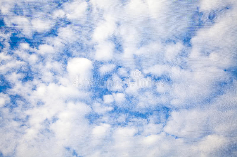 Clear sky texture stock images
