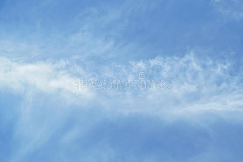 Clear sky royalty free stock photo