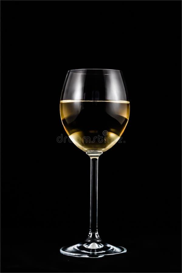 Clear Stem Glass Half Liquid Free Public Domain Cc0 Image