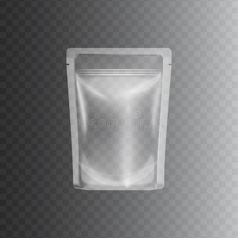 Free Clear Transparent Plastic Bag Mockup Royalty Free Stock Photo - 147091365