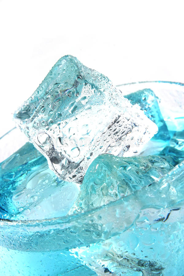 Clear water in glass stock photos