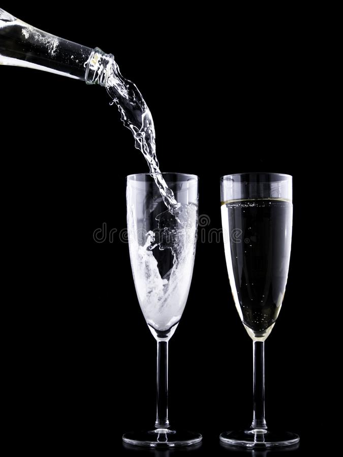 Clear Wine Glass With Liquid Free Public Domain Cc0 Image