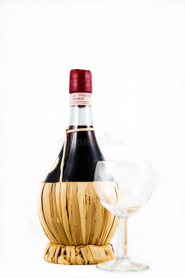 Clear Wine Glass Beside Red Wine Bottle Free Public Domain Cc0 Image