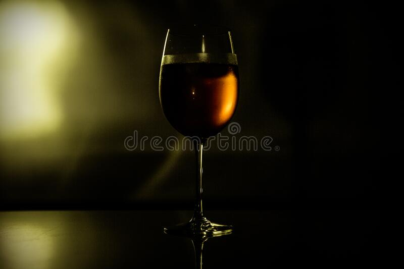 Clear Wine Glass With Wine Free Public Domain Cc0 Image