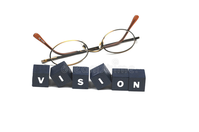 Download Clear your vision stock photo. Image of spelled, future - 7095722
