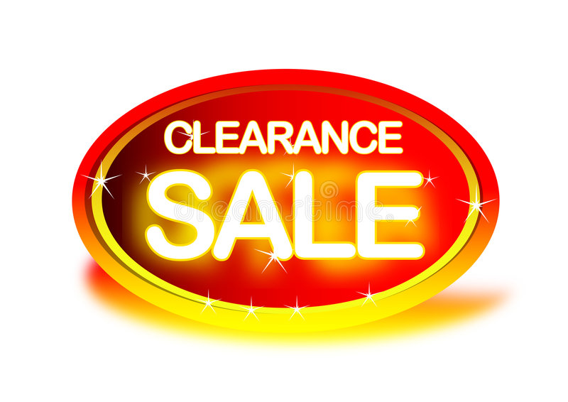 Clearance Sale stock illustration