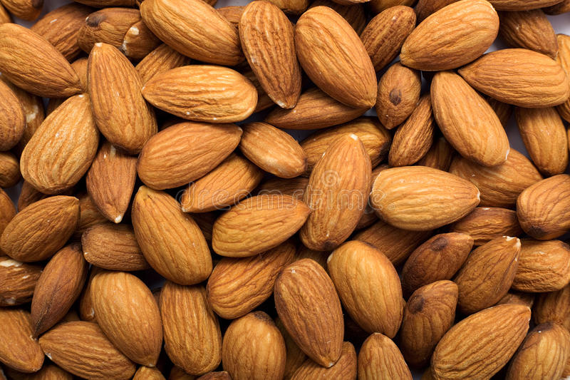 Download Cleared Golden Almonds Background Stock Image - Image: 9970837