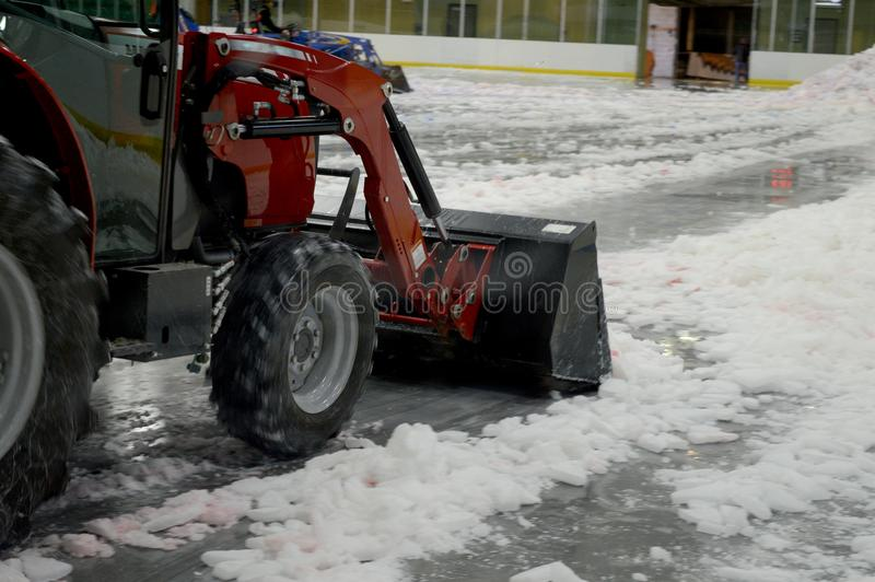 Clearing the Ice stock photos