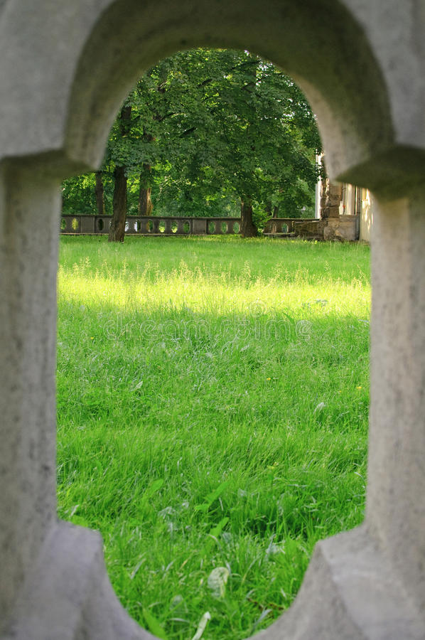 Download Clearing peep stock photo. Image of look, grass, view - 14780908