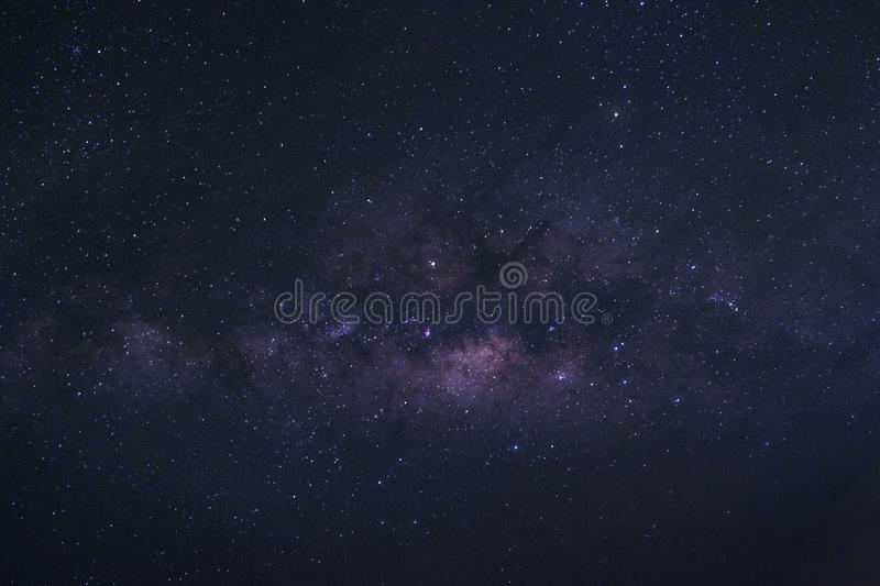 clearly milky way galaxy with stars and space dust in the universe royalty free stock photo