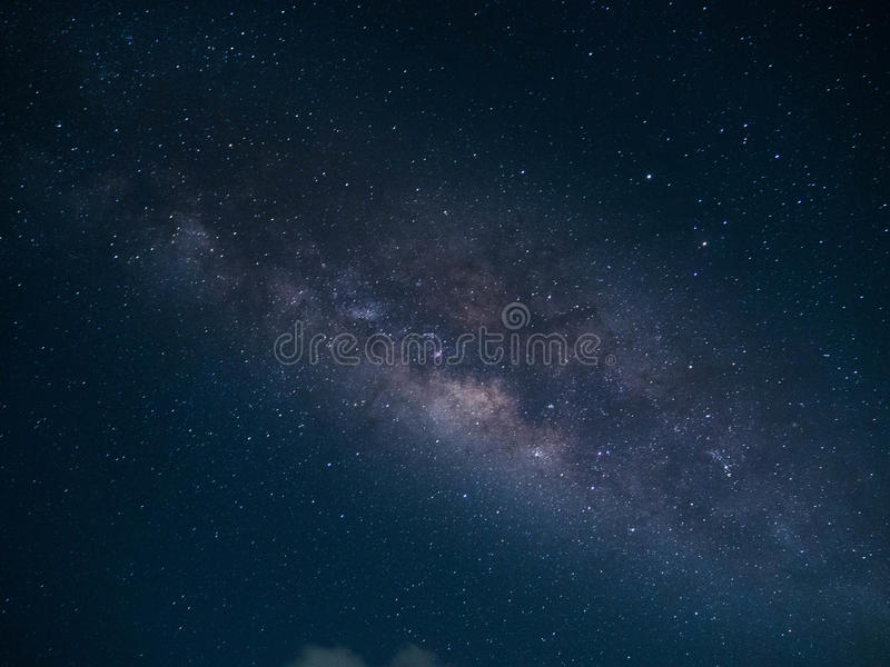 Clearly Milky way in Thailand royalty free stock photo