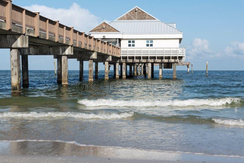 Clearwater海滩佛罗里达,码头60 免版税库存图片