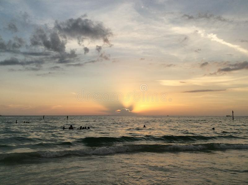 Clearwater海滩 库存照片