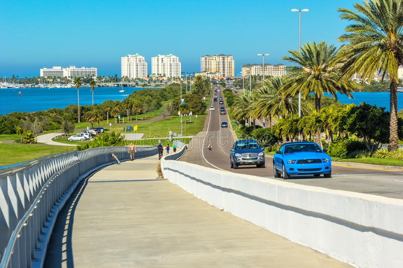 Clearwater, Florida royalty free stock photos