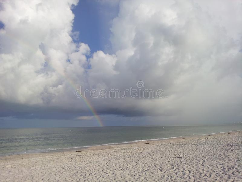 Clearwater florida stranden #1 i Amerika arkivbild