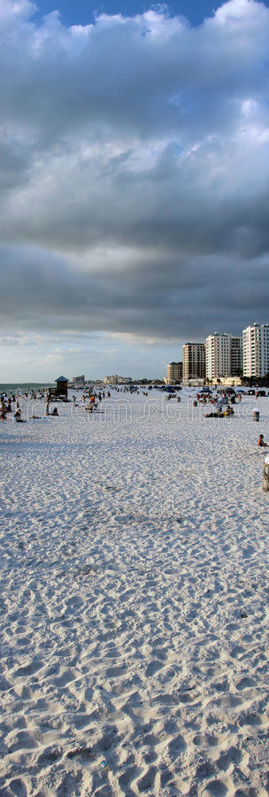 clearwater plażowy Florydy fotografia royalty free