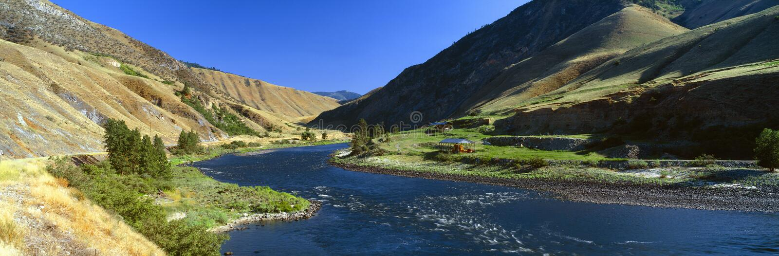Clearwater River. Lewis and Clark 1805 expedition route, Idaho stock photos