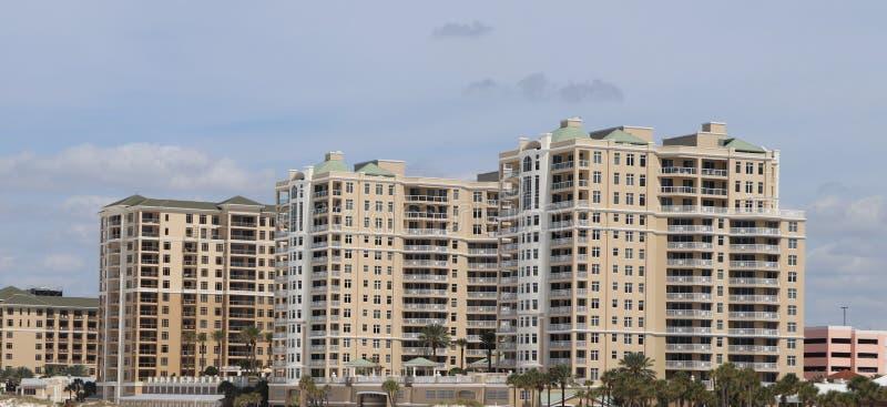 Clearwater strand, Florida horisont royaltyfria foton