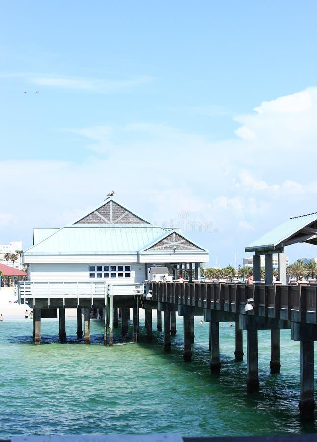 Clearwater strandpir 60 arkivfoton