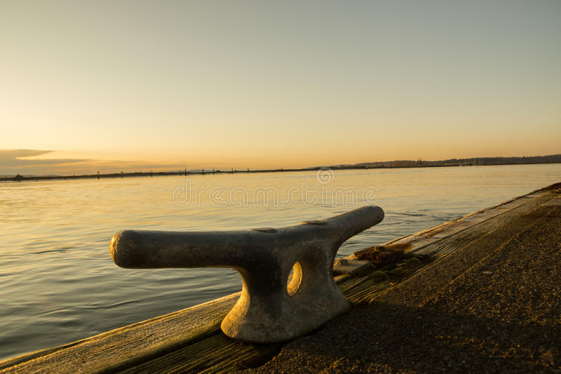 Cleat At Sunset Royalty Free Stock Images