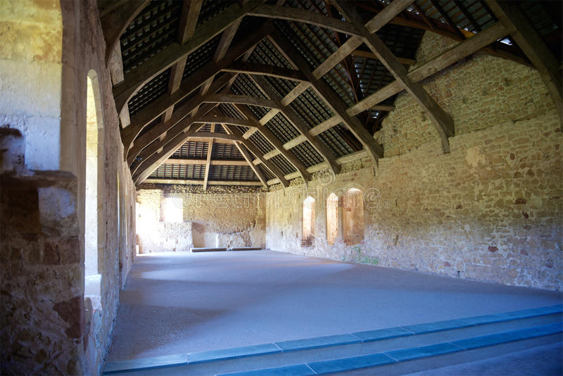 Cleeve Abbey English Heritage North Devon R-U photographie stock