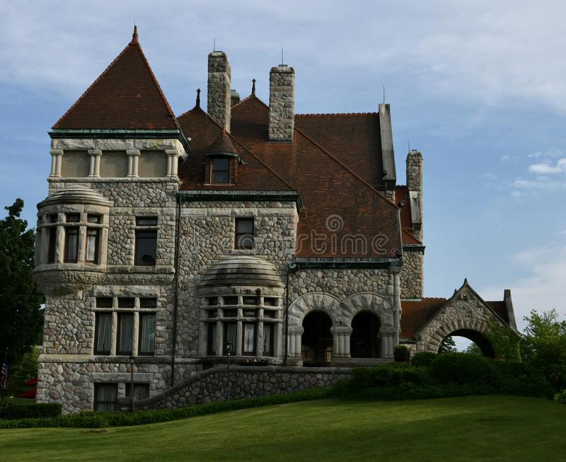 Clement Studebaker Mansion royalty-vrije stock foto