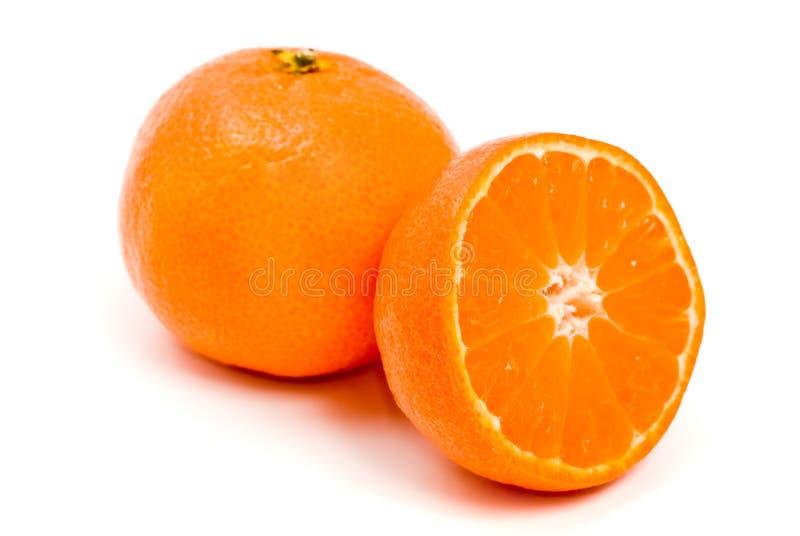 Clementina alaranjada do citrino fotos de stock royalty free