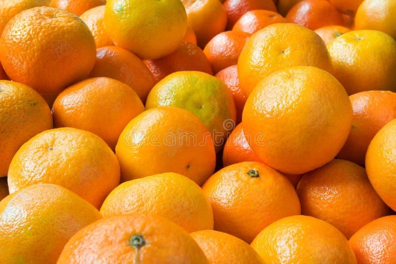 Clementinas foto de archivo libre de regalías