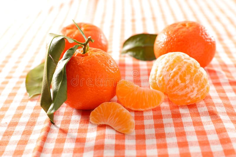 Clementinefrukt arkivbilder