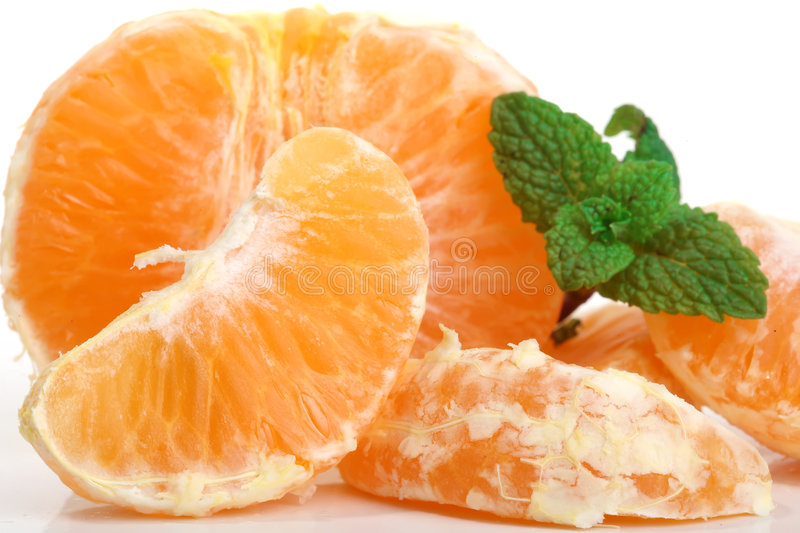 Clementines fruits stock image