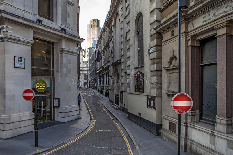 Download Clements Lane London Street Editorial Image