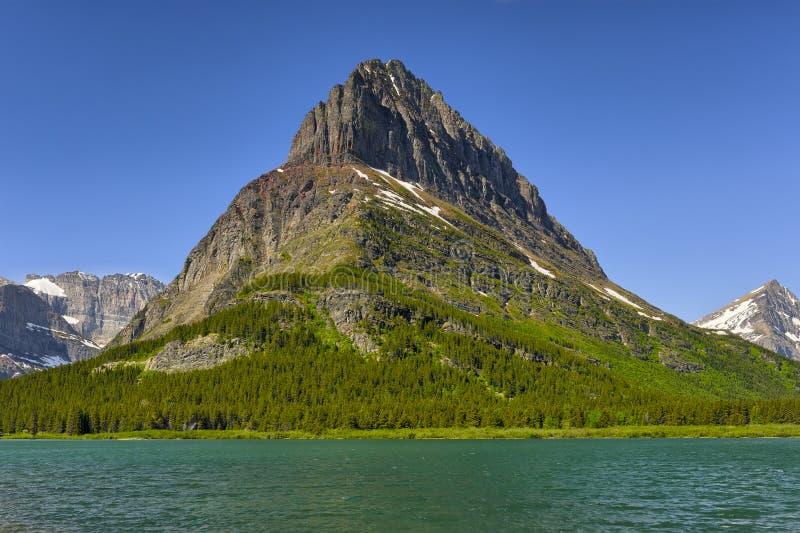 Clements Mountain en Verborgen Meer royalty-vrije stock afbeeldingen