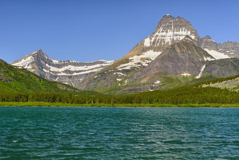 Clements Mountain und versteckter See lizenzfreie stockfotografie