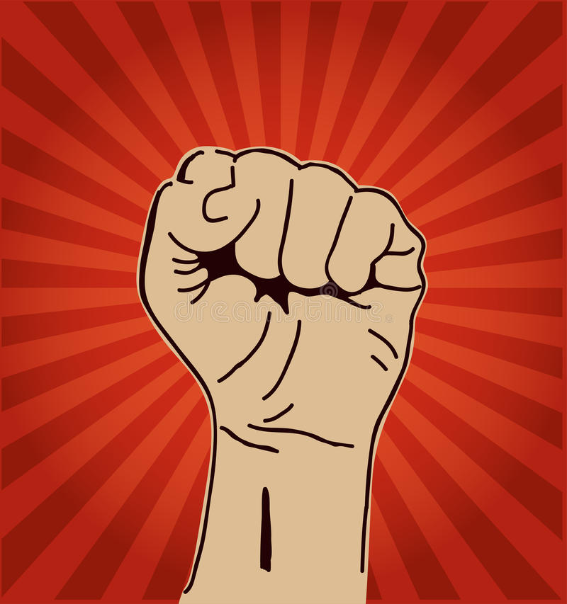 Download Clenched Fist Held High Royalty Free Stock Images - Image: 30744569