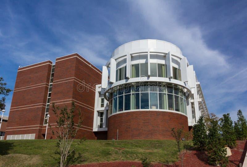 Cleon F Thompson Jr Estudiante Services Center en WSSU fotos de archivo