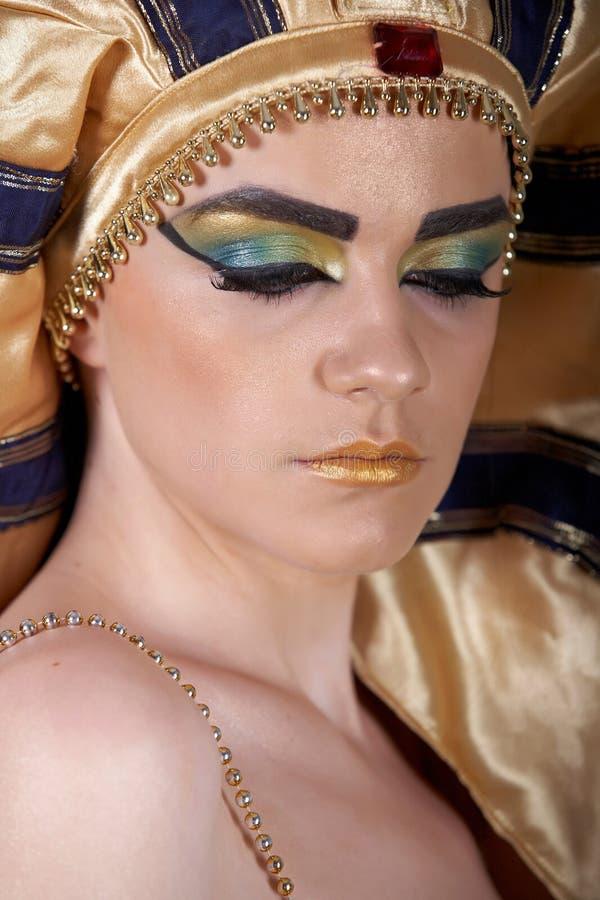 cleopatra royaltyfria foton