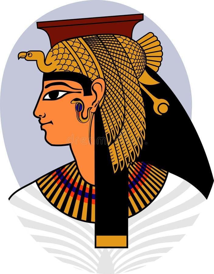 cleopatra vektor abbildung