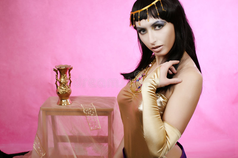 Cleopatra royalty-vrije stock afbeelding